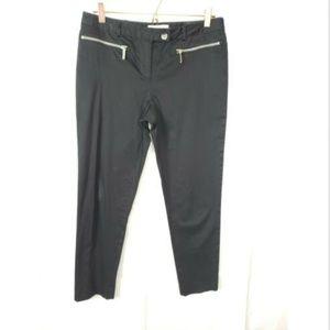 Micheal Kors Gold Zipper Slacks Size 8